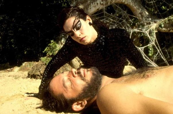 Sonia Braga en El Beso de la Mujer Araña