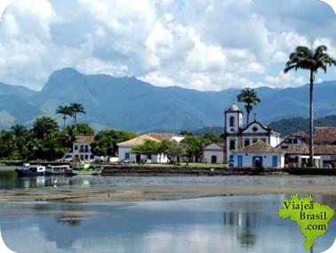 Turismo, alojamiento, mapa y fotos de Paraty