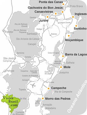 Turismo mapa y fotos de Florianópolis