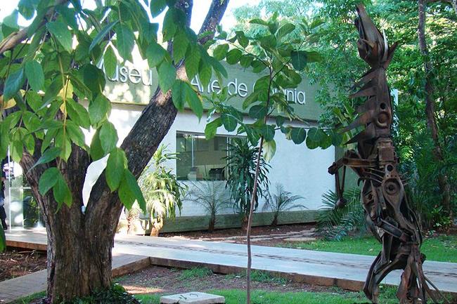Instalaciones del Museo de Arte de Goiania
