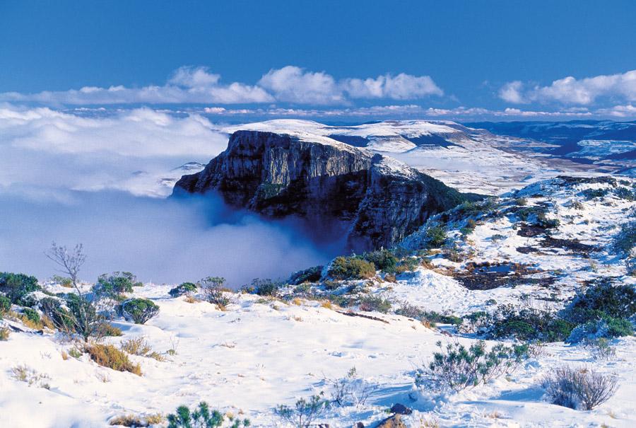 Destinos de nieve en Brasil: sierra de Santa Catarina