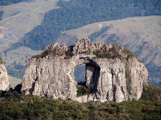 Pedra Furada en Urubici