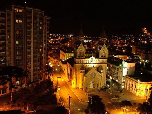 Ciudad de Lages en la Sierra de Santa Catarina