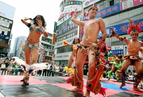 Vestuario de samba para hombres